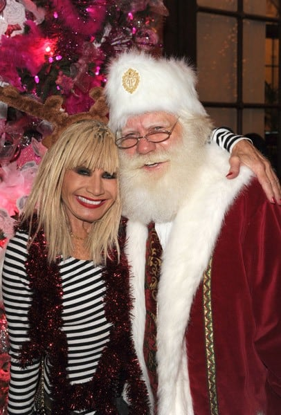 Betsey Johnson attends the 2011 Eloise Christmas tree lighting at The Plaza Hotel on November 28, 2011 in New York City.