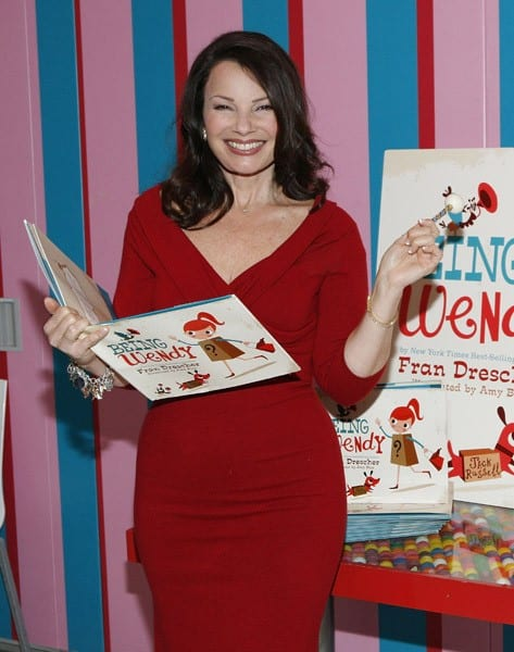 Fran Drescher promotes 'Being Wendy' at Dylan's Candy Bar on November 17, 2011 in New York City.