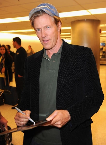 Jack Wagner and Rick Springfield arrive at Miami International Airport on November 3, 2011 in Miami, Florida.