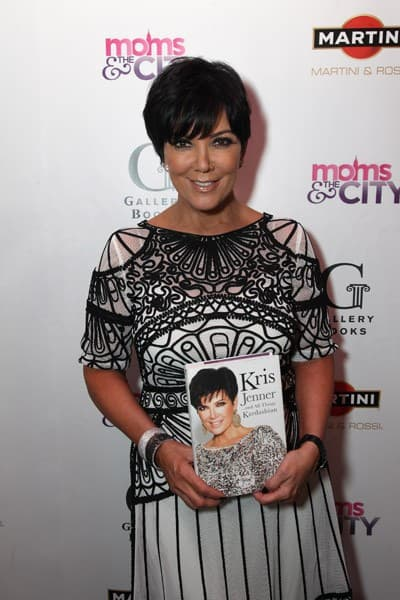 Kris Jenner attends the celebration of her book launch at the Moms & the City Mamarazzi event, sponsored by MARTINI, at The Darby Restaurant on November 2, 2011 in New York City.