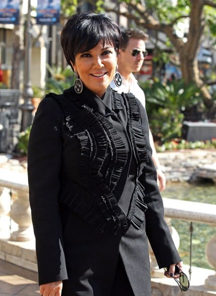 Kris Jenner is seen at The Grove on November 7, 2011 in Los Angeles, California.