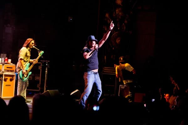 Musician Kid Rock performs at the Beacon Theatre on November 19, 2011 in New York City.