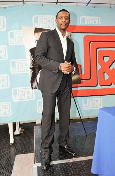 Singer Keith Sweat promotes 'Till The Morning' at J&R Music & Computer World on November 8, 2011 in New York City.
