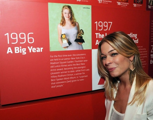 Singer LeAnn Rimes performs during 'An Evening With LeAnn Rimes' at The GRAMMY Museum on November 2, 2011 in Los Angeles, California.