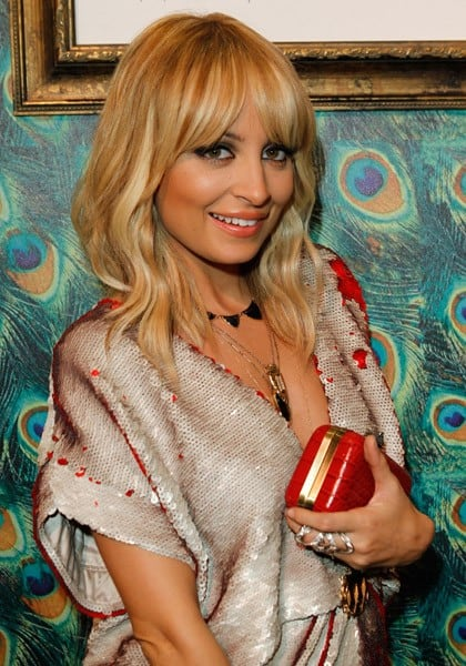 Nicole Richie unveils The House of Harlow 1960 Pop-Up Shop at Ron Robinson, Fred Segal on November 19, 2011 in Los Angeles, California.