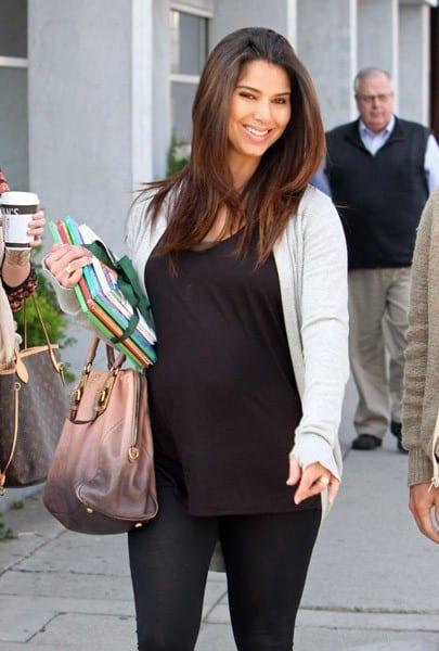Roselyn Sanchez is seen on November 23, 2011 in Los Angeles, California.