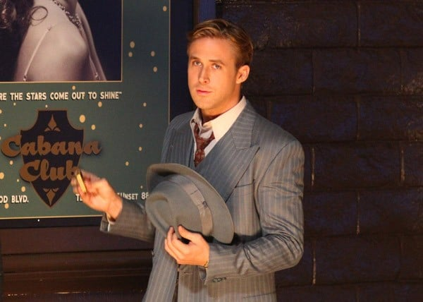 Ryan Gosling Films Gangster Squad