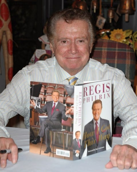 Regis Philbin discusses and signs 'How I Got This Way' hosted by Books and Books on November 21, 2011 in Coral Gables, Florida.