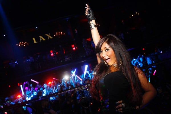 Nicole 'Snooki' Polizzi celebrates her 24th birthday at LAX nightclub on November 12, 2011 in Las Vegas, Nevada.