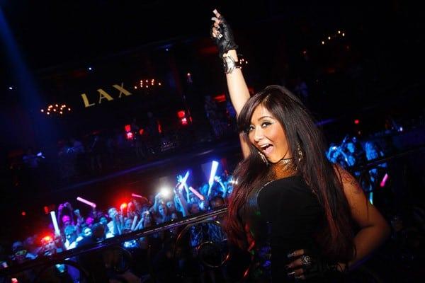 Nicole 'Snooki' Polizzi celebrates her 24th birthday at LAX nightclub on November 12, 2011 in Las Vegas, Nevada.
