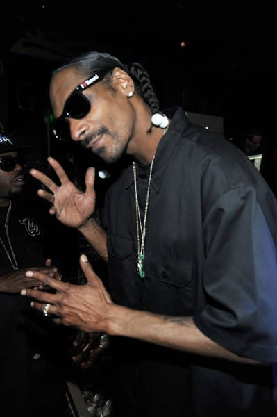 Snoop Dogg hosts at Gallery Nightclub at Planet Hollywood on November 26, 2011 in Las Vegas, Nevada.