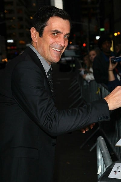 Actor Ty Burrell arrives to 'Late Show With David Letterman' at the Ed Sullivan Theater on November 21, 2011 in New York City.