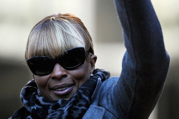 Mary J. Blige, Cee Lo Green, Neil Diamond attends the 2011 Macy's Thangiving Day Parade in the Streets of Manhattan on November 24, 2011 in New York City.