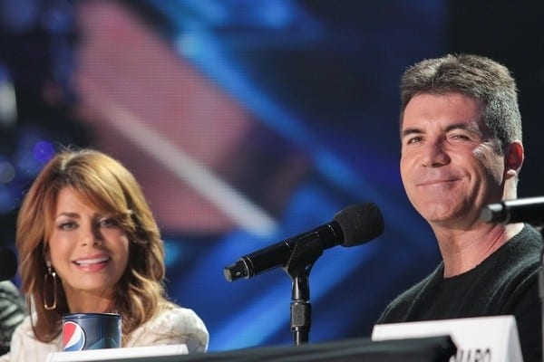 Paula Abdul, L.A. Reid, Simon Cowell and Nicole Scherzinger Attend 'The X Factor' Press Conference on December 19, 2011 in Los Angeles, California