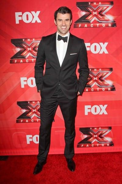 Steve Jones, L.A. Reid Arrives to 'The X Factor' Season Finale in Los Angeles, California on December 22, 2011