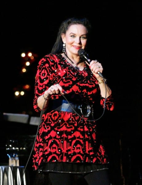 Crystal Gayle in Concert at Foothills Performing Arts Center in Oneonta, New York on December 11, 2011