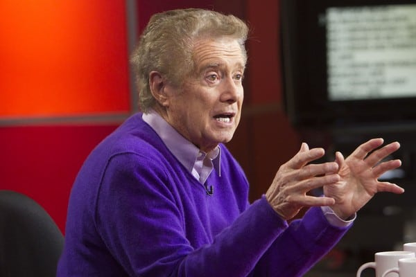 Regis Philbin Visits 'The Morning Show' in Toronto, Canada on December 7, 2011