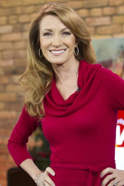 Jane Seymour Visits The Marilyn Denis Show in Toronto, Canada on December 12, 2011