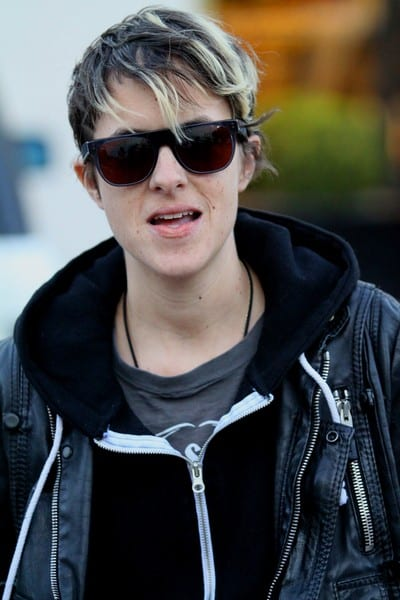 Samantha Ronson is Seen Shopping on Rodeo Drive in Beverly Hills, California on December 22, 2011