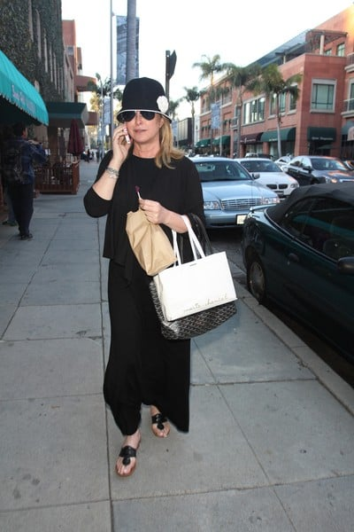 Kathy Hilton is Spotted Walking in Beverly Hills, California on December 27, 2011
