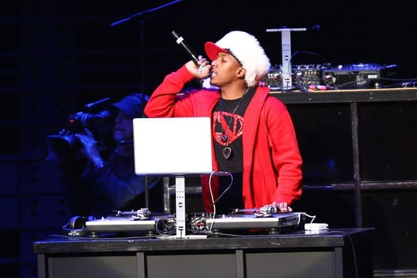 Nick Cannon performs at the 102.7 KIIS FM's Jingle Ball at Nokia Theatre L.A. Live on December 3, 2011 in Los Angeles, California.