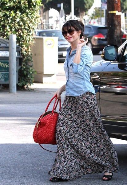Jenna Dewan is seen in Beverly Hills on November 30, 2011 in Los Angeles, California.