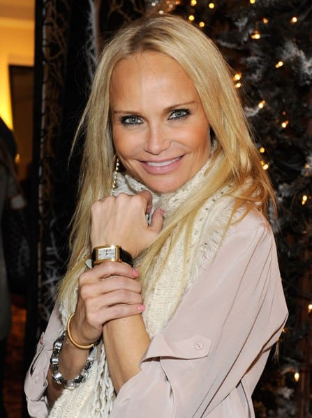 Actress Kristin Chenoweth attends the Backstage Creations Celebrity Retreat at the American Country Awards at MGM Grand Garden Arena in Las Vegas, Nevada.