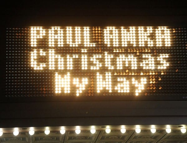 Paul Anka performs at the State Theater on December 1, 2011 in New Brunswick, New Jersey.