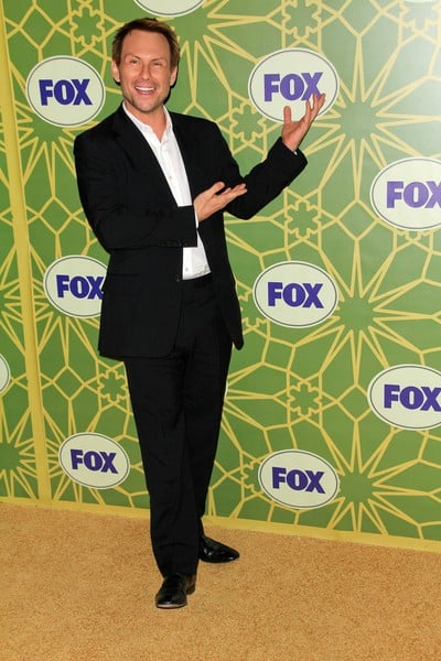 Christian Slater Attends The FOX 2012 Winter TCA Press Tour All-Star Party in Pasadena, California on January 8, 2012