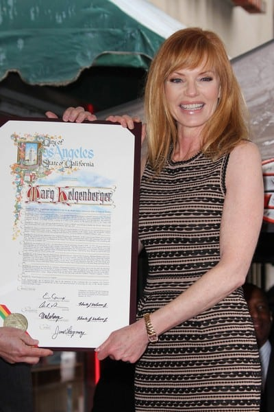 Marg Helgenberger Shines On Walk Of Fame