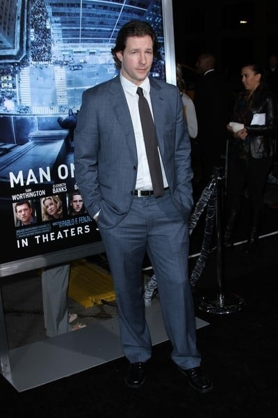 Ed Burns Attends the Los Angeles, California Premiere of 'Man on a Ledge' on January 23, 2012