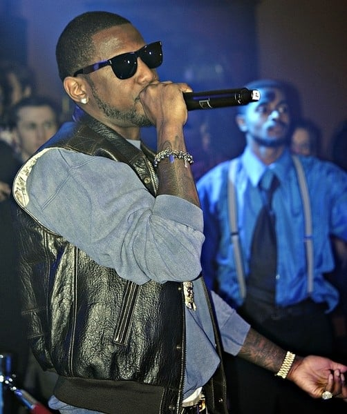 Fabolous in Concert Presented by AXE Body Spray at the Young Women's Republican Club in New York City on January 10, 2012