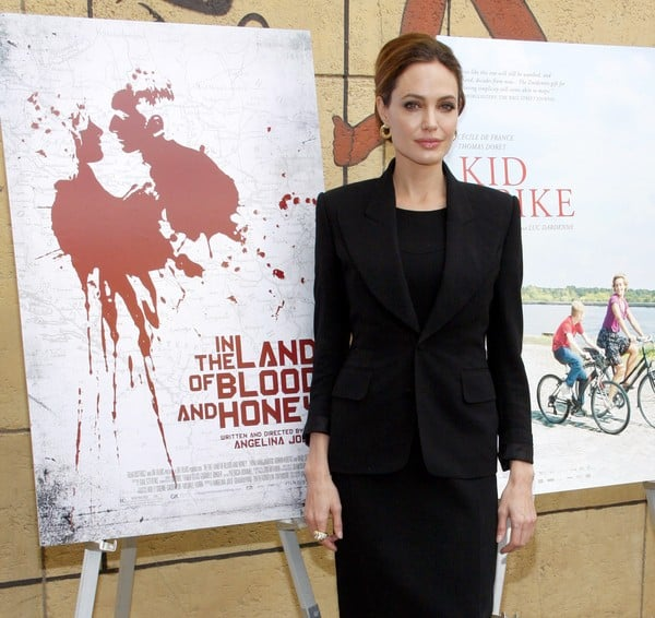 Angelina Jolie Attends Cinematheque Event