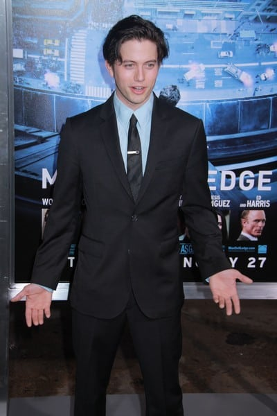 Jackson Rathbone, Ed Burns Attends the Los Angeles, California Premiere of 'Man on a Ledge' on January 23, 2012