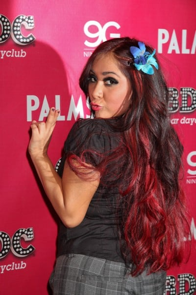 Nicole 'Snooki' Polizzi Hosts The Day at Ghostbar Dayclub in Las Vegas, Nevada on December 31, 2011
