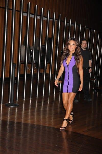 Christina Milian Hosts the Evening at Moon Nightclub in Las Vegas, Nevada on January 7, 2012