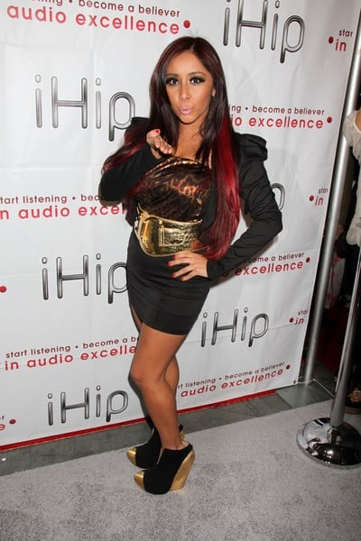 Nicole 'Snooki' Polizzi Attends the First Day of the 2012 International Consumer Electronics Show in Las Vegas, Nevada on January 10, 2012