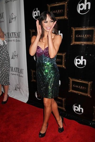 Karina Smirnoff Celebrates Her 34th Birthday at Gallery Nightclub in Las Vegas, Nevada on January 14, 2012