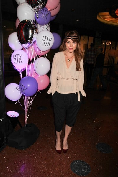 Taryn Manning Attends the 1st Anniversary Celebration of STK Steakhouse at The Cosmopolitan in Las Vegas on January 16, 2012