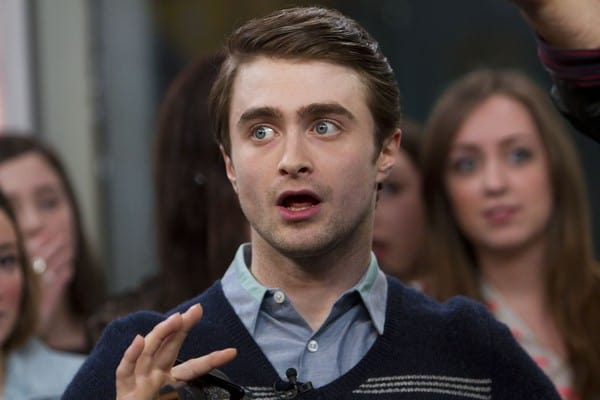 Daniel Radcliffe Visits New.Music.Live Promoting His New Film 'The Woman In Black' in Toronto, Canada on January 26, 2011
