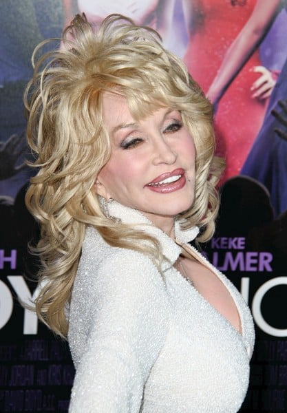 Dolly Parton, Queen Latifah Attends the 'Joyful Noise' Premiere in Los Angeles, California on January 9, 2012