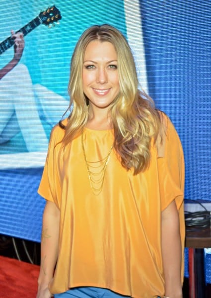 Colbie Caillat Attends the first day of the 2012 NAMM Show in Anaheim, California on January 19, 2012