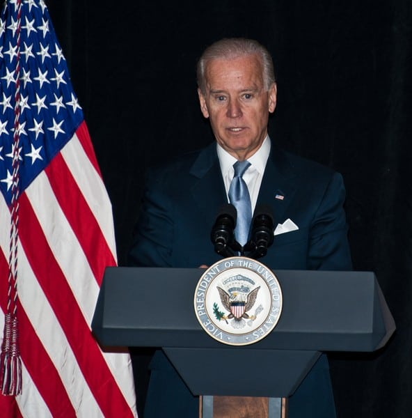 Vice President Joe Biden Delivers Remarks at The Conference of Chief Justices at The Hotel Du Pont in Wilmington, Delaware on January 30, 2012
