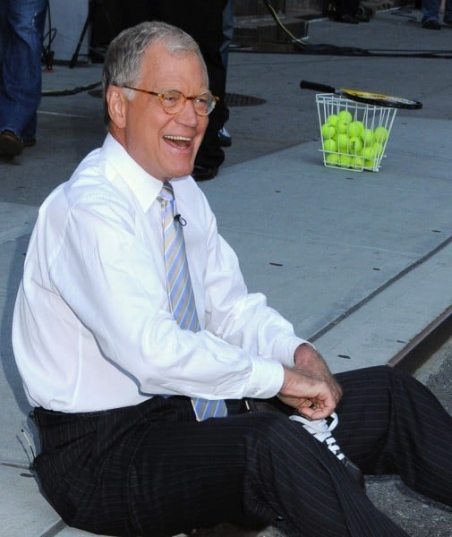 David Letterman Calls It Quits!