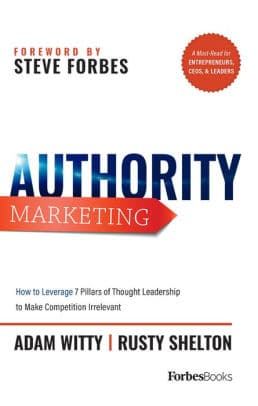 Adam Witty's 'Authority Marketing' Book