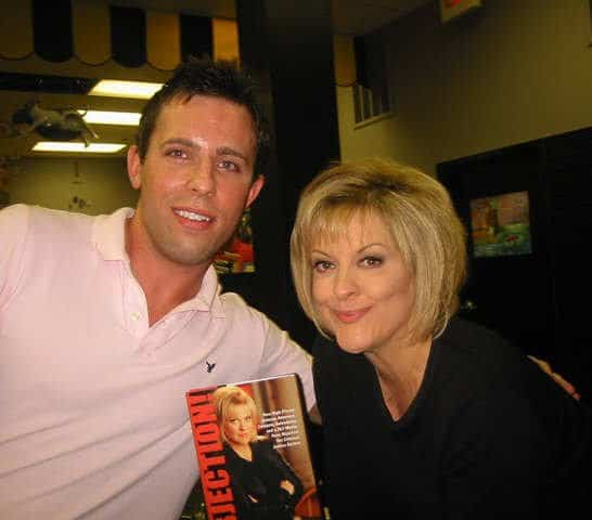 Contact Any Celebrity creator Jordan McAuley with Nancy Grace