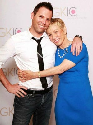 Contact Any Celebrity founder Jordan McAuley with 'Shark Tank' star Barbara Corcoran