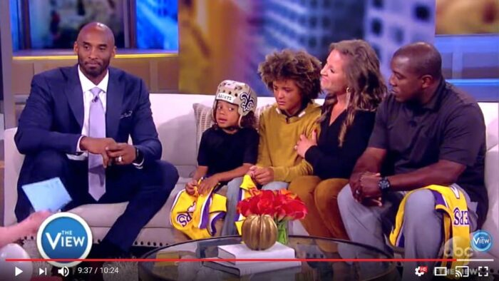 Kobe Bryant Surprises Thompson Family on The View